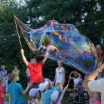 Sommerfest 2013 - Seifenblasenshow